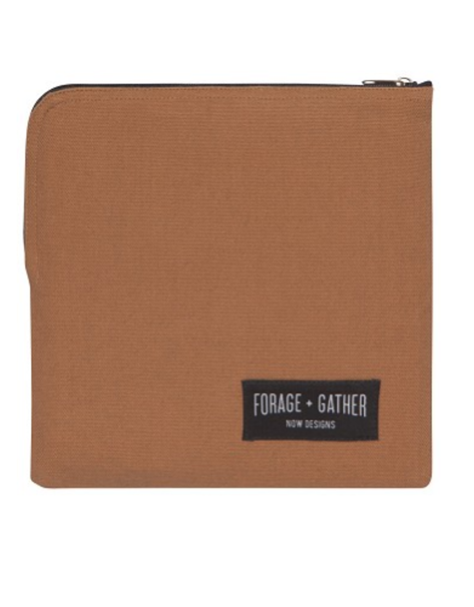 Now Designs Canvas Snack Bag, Brown