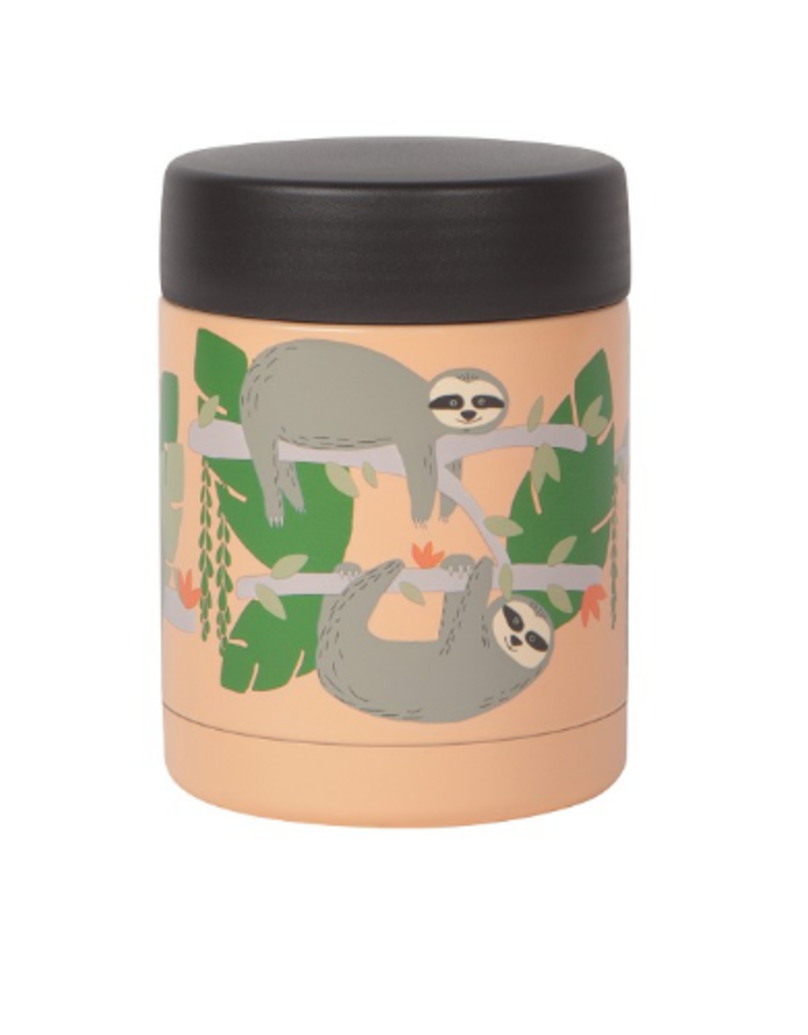 Now Designs Food Jar 12oz, Sloths