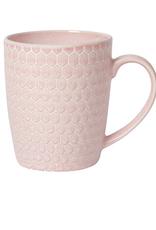 Now Designs Mug, Honeycomb Pink