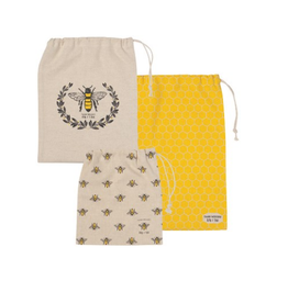 Now Designs Produce Bag, set/3, Busy Bee