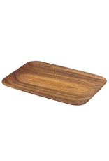 "Pacific Merchants Acaciaware Rectangular Tray, 10"" x 7"""