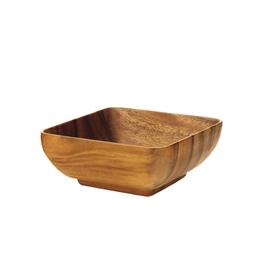 "Pacific Merchants Acaciaware Small Square Bowl, 6x6x3"""