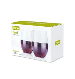 True Fabrications Flexi Wine Glass Set 2