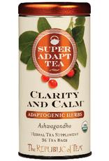 The Republic of Tea Clarity and Calm Tea 36 Bag Tin