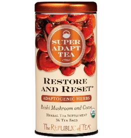The Republic of Tea Restore and Reset Tea 36 Bag Tin