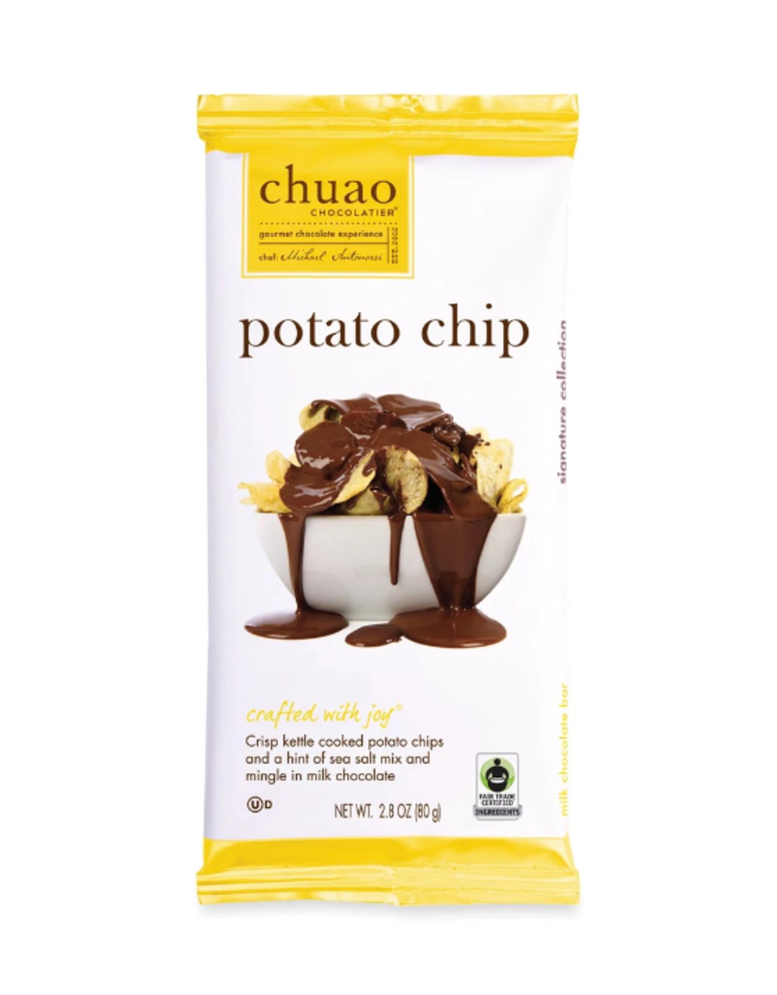 Merrill Foods Chuao Chocolatier, Milk Chocolate w/Potato Chips