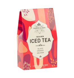 Harney & Sons Iced Tea Blood Orange - 3 2Qt Bags