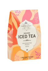 Harney & Sons Iced Tea Invigorating Peach - 3 2Qt Bags