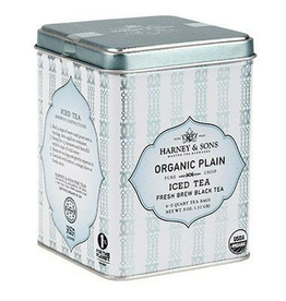 Harney & Sons Organic Black Iced Tea, Tin
