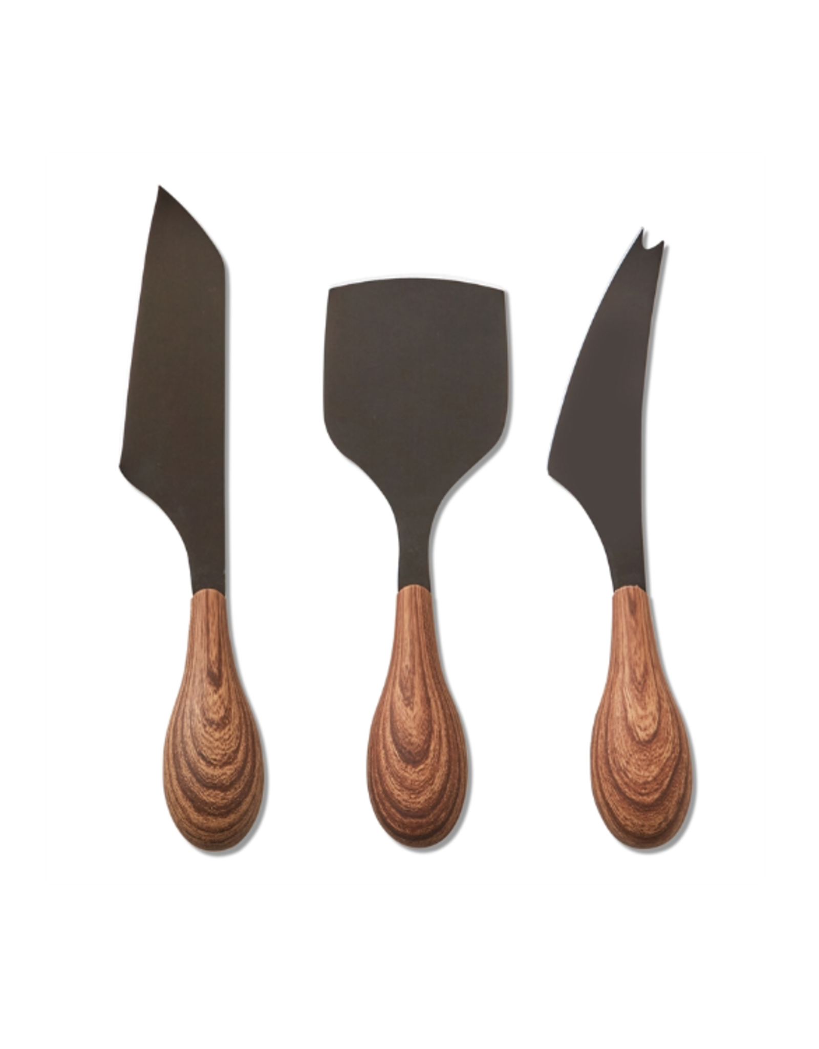 Tag Cheese Utensil S/3 - Wood Handle