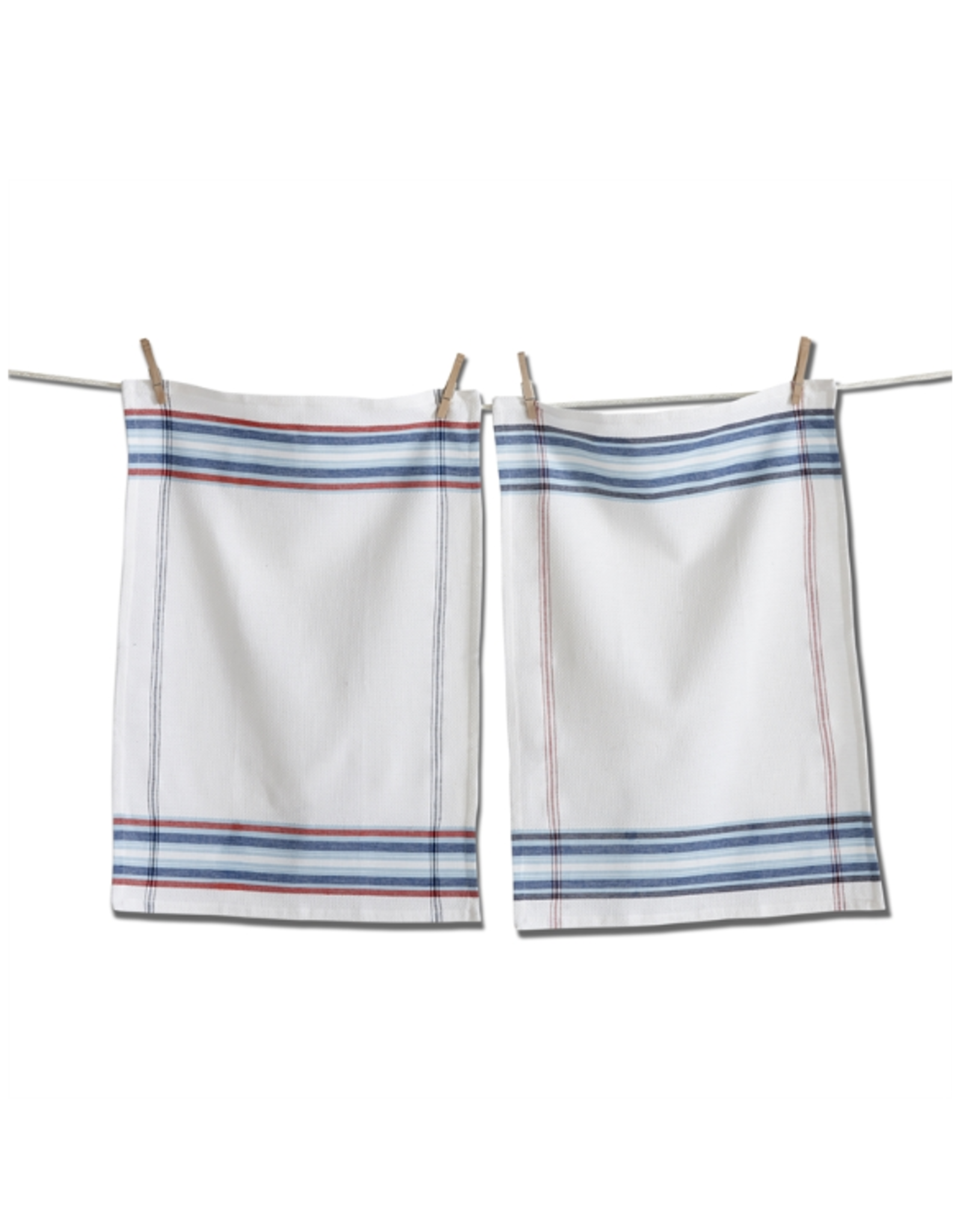 Tag Dishtowel S/2 - Americana Stripe