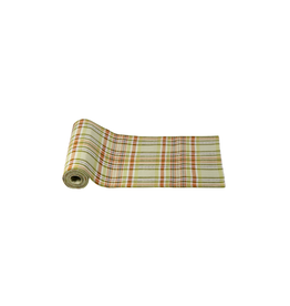 Tag Table Runner, Green Plaid