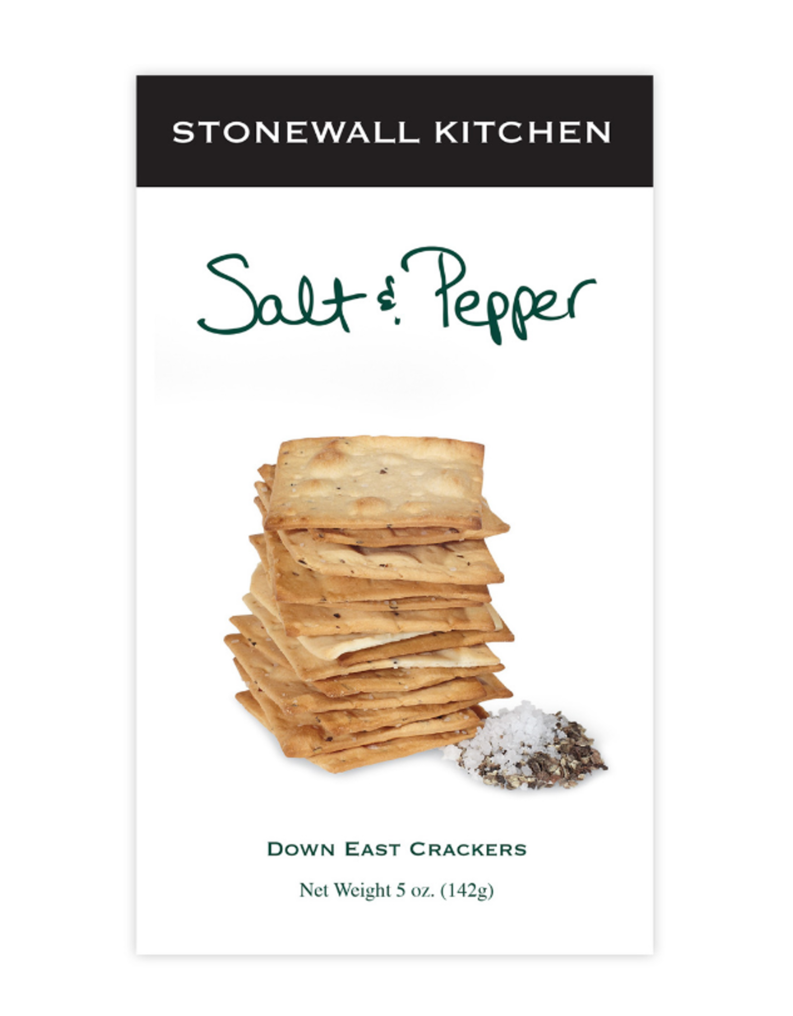 Stonewall Kitchen Down East Sea Salt & Pepper Crackers