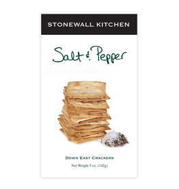 Stonewall Kitchen Down East Sea Salt & Pepper Crackers