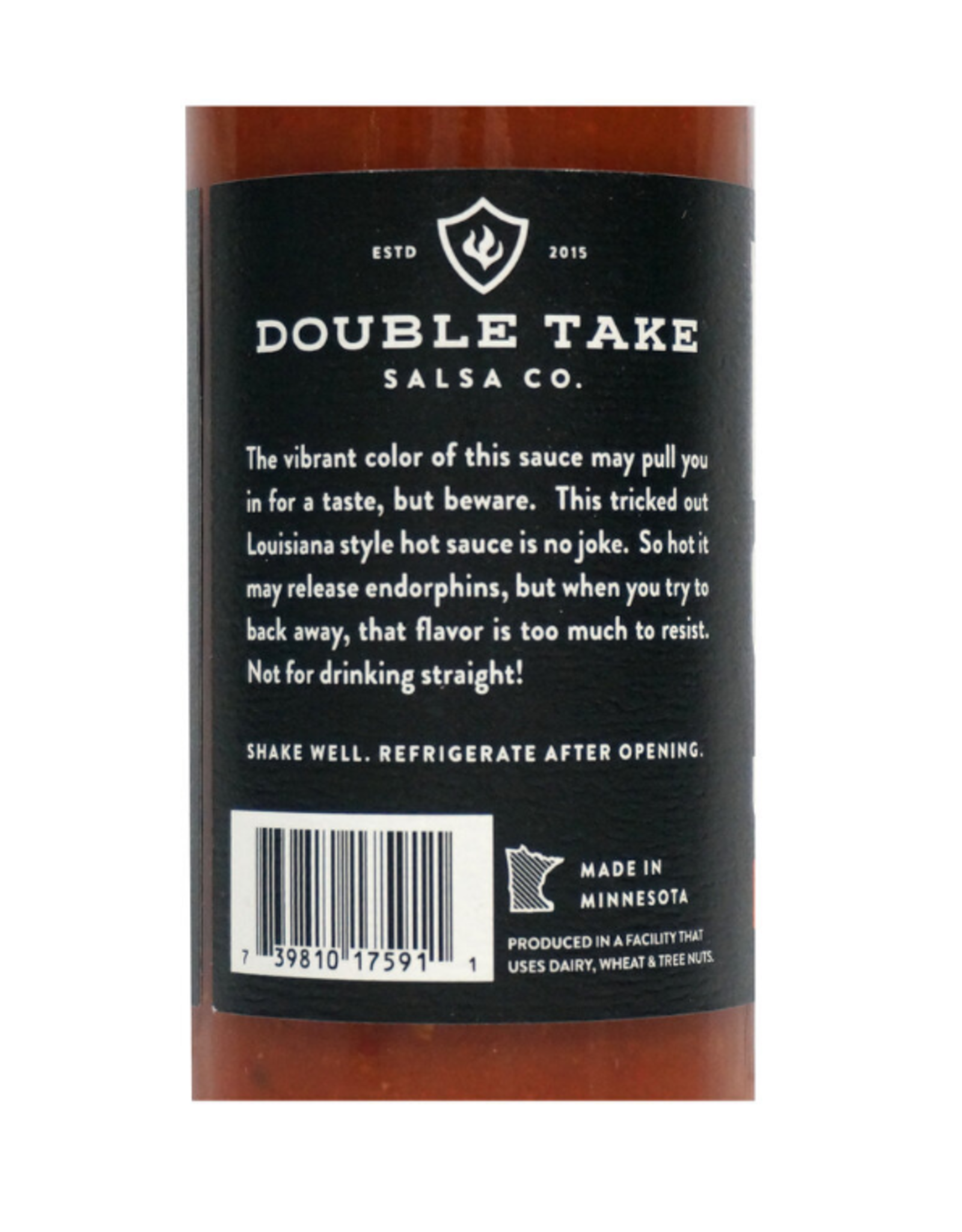 Double Take Salsa Carolina Reaper Hot Sauce