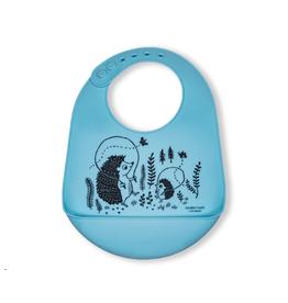 Modern Twist Bucket Bibs, Hedgehog Family