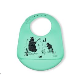 Modern Twist Bucket Bibs, Bear Family