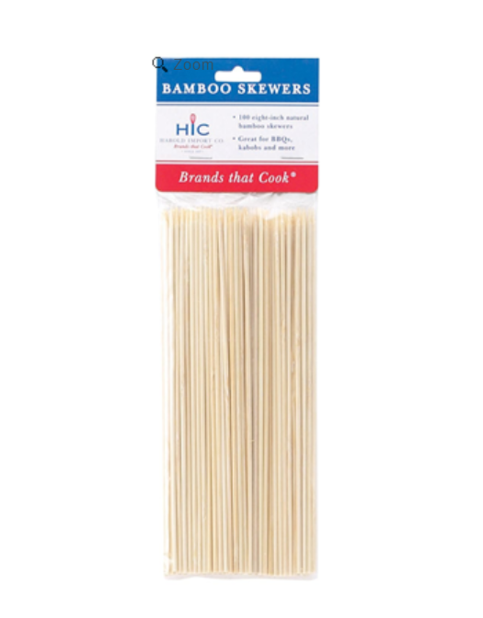 "Harold Import Company Inc. Bamboo Skewers, 8"""