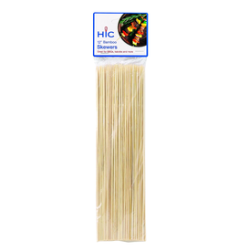 Harold Import Company Inc. Bamboo Skewers, 12""