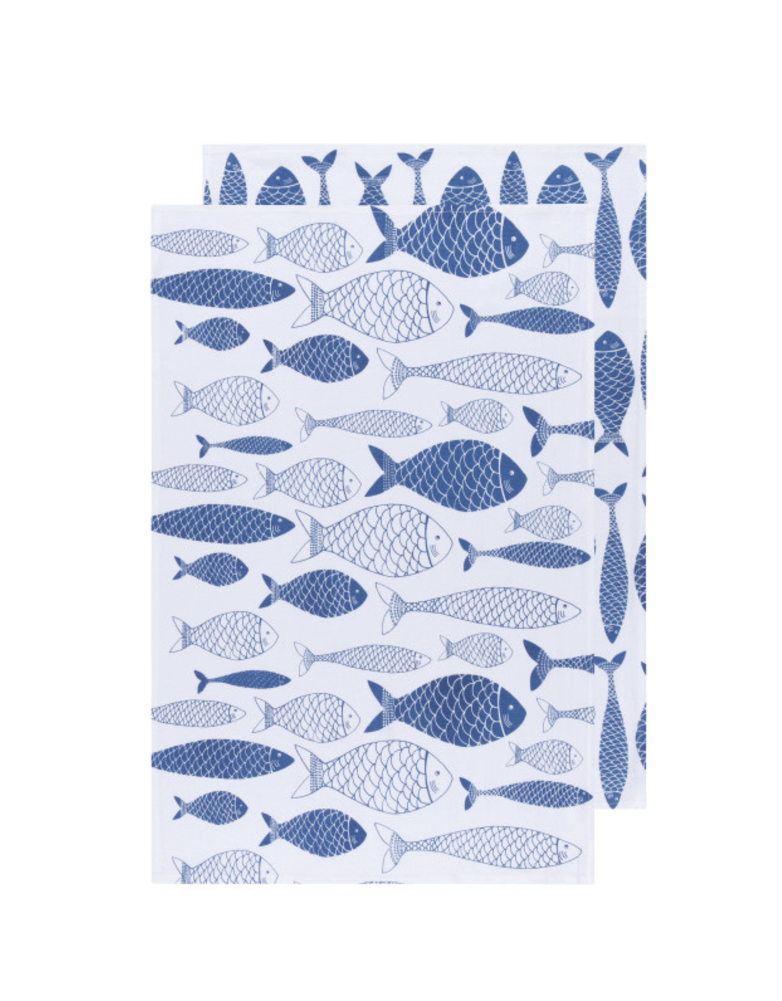 Now Designs Floursack Dishtowel S/2, Royal