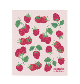 Now Designs Swedish Dishcloth, Raspberries
