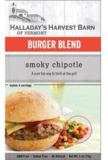 Halladay's Harvest Barn Burger Seasoning, Smoky Chipotle