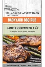 Halladay's Harvest Barn BBQ Rub, Sage Peppercorn