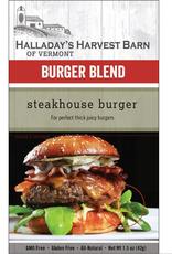 Halladay's Harvest Barn Burger Seasoning, Steakhouse Burger