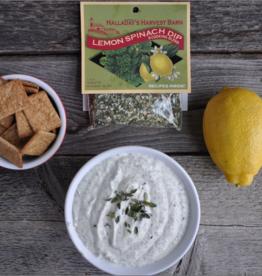Halladay's Harvest Barn Lemon Spinach Dip