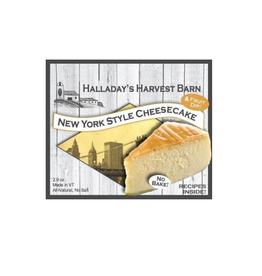 Halladay's Harvest Barn New York Style Cheesecake Mix