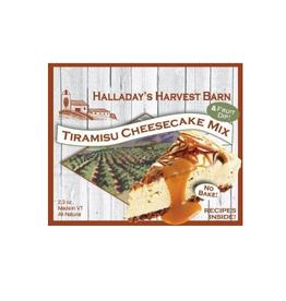 Halladay's Harvest Barn Tiramisu Cheesecake Mix