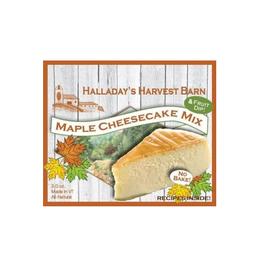 Halladay's Harvest Barn Maple Cheesecake Mix