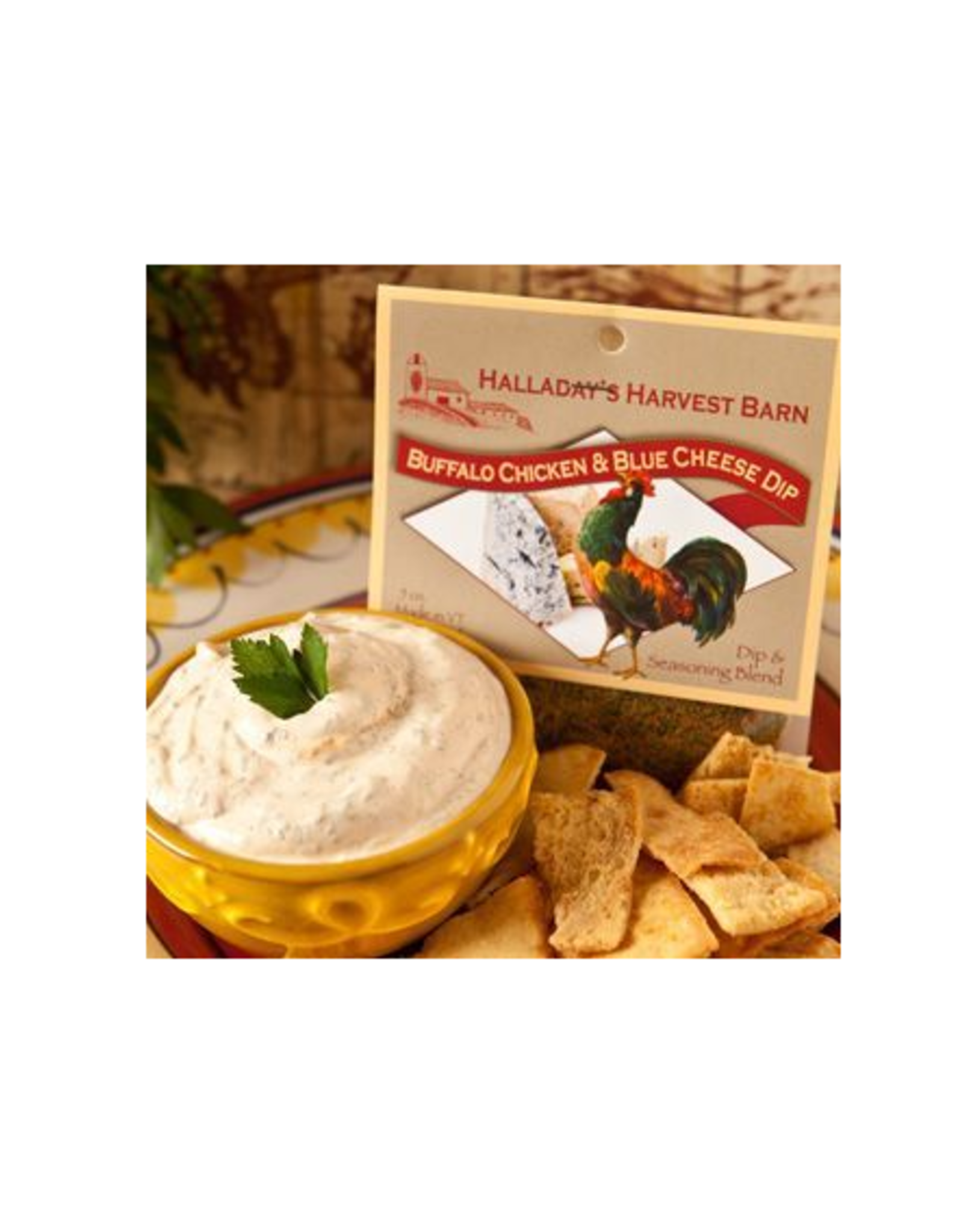 Halladay's Harvest Barn Buffalo Chicken & Blue Cheese Dip