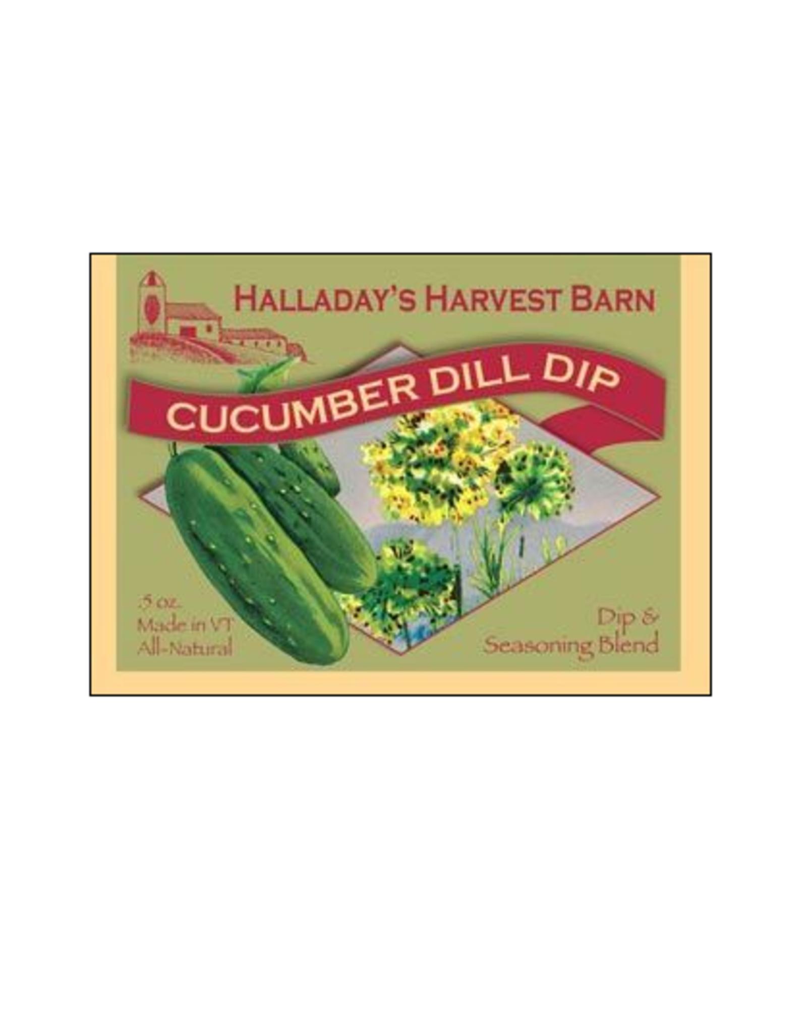 Halladay's Harvest Barn Cucumber Dill Dip