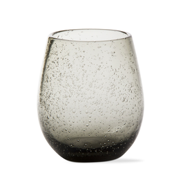 Tag Stemless Wine Bubble Glass, Smoke