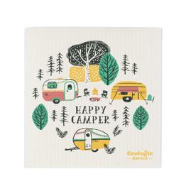 Now Designs Swedish Dishcloth, Happy Camper