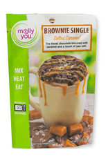 molly&you Salted Caramel Brownie Microwave Single