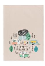 Now Designs Dishtowel, Happy Camper