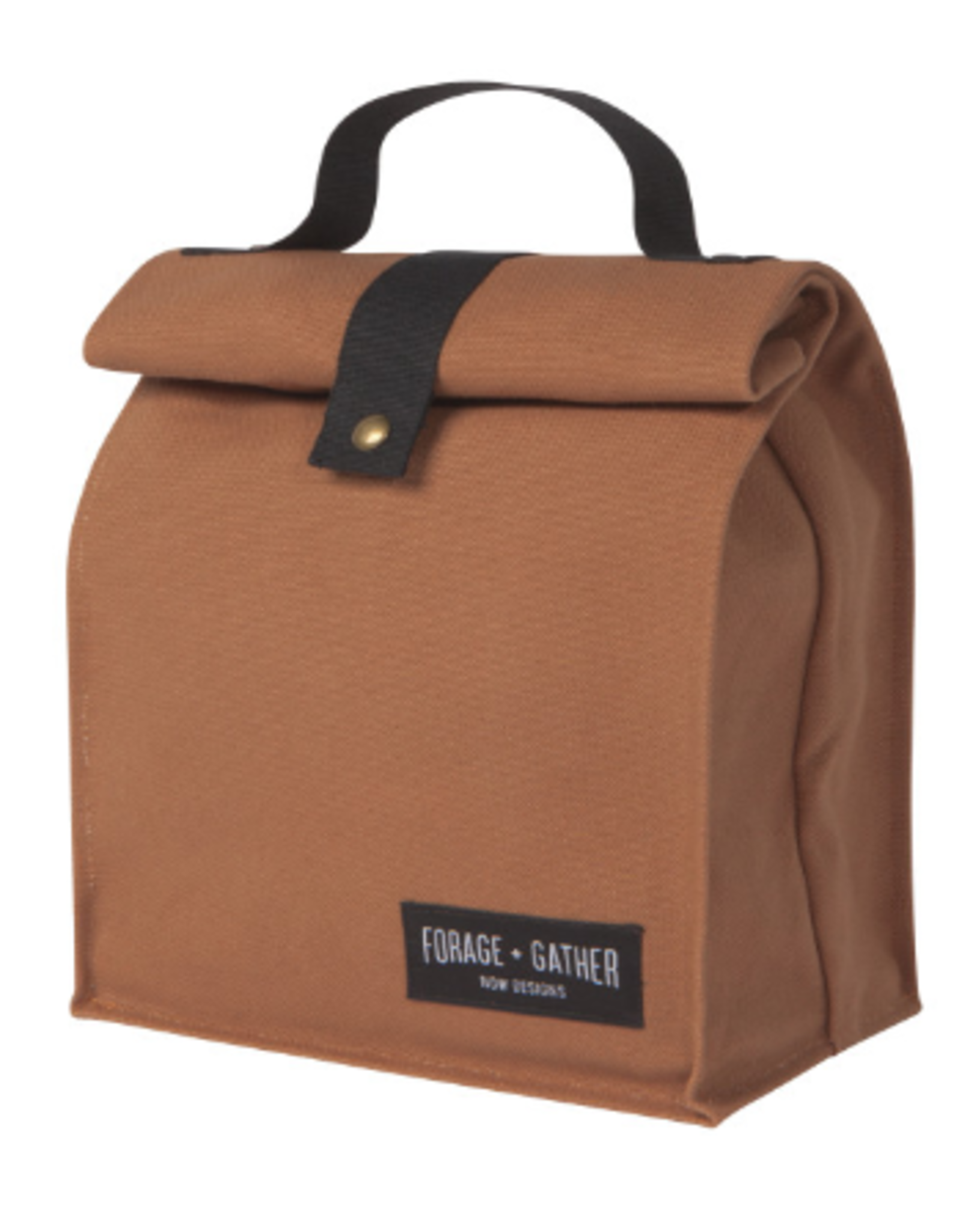 Now Designs Canvas Lunch Bag, Brown