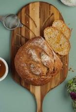 Teak Haus Small Paddle Bread Board