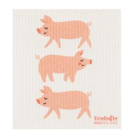 Now Designs Swedish Dishcloth, Penny Pig