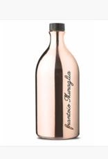 Zia Pia Imports + Italian Kitchen EVOO Glass Bottle - Rose Gold