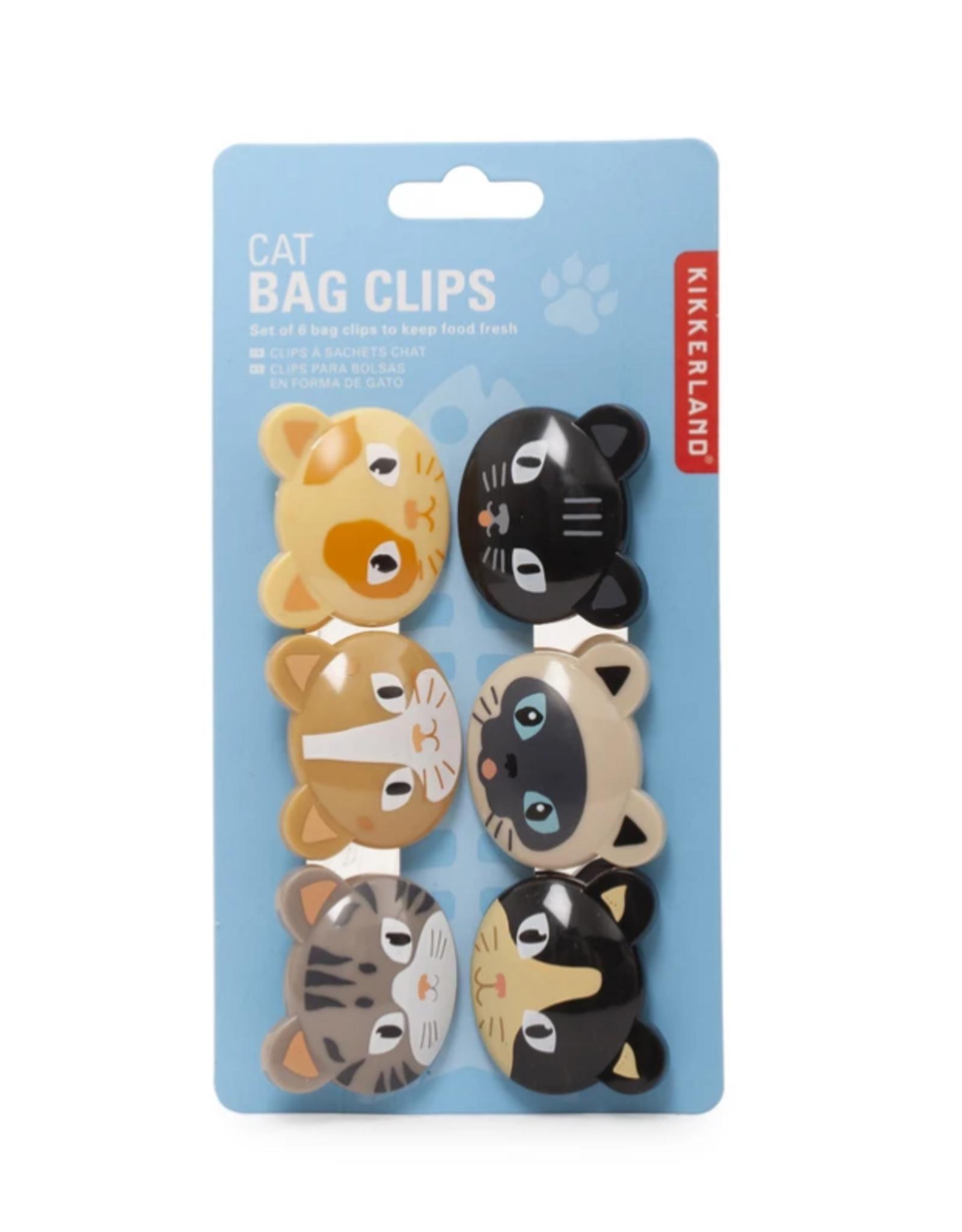 Kikkerland Cat Bag Clips