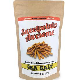 Sweetpotato Awesome Sea Salt Fries Sweetpotato 2oz