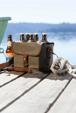 Picnic Time Beer Caddy, Green