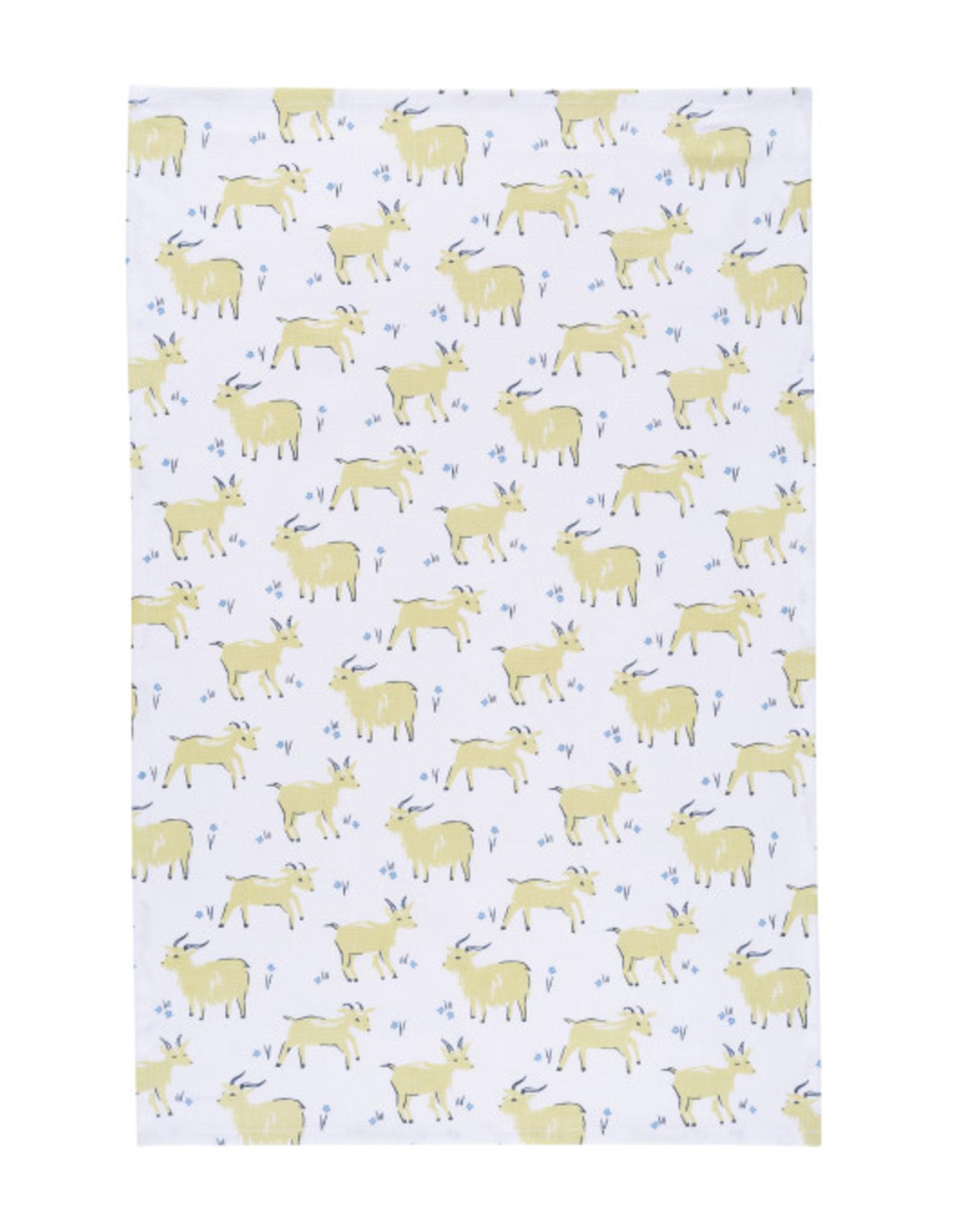 Now Designs Dishtowel, Goats