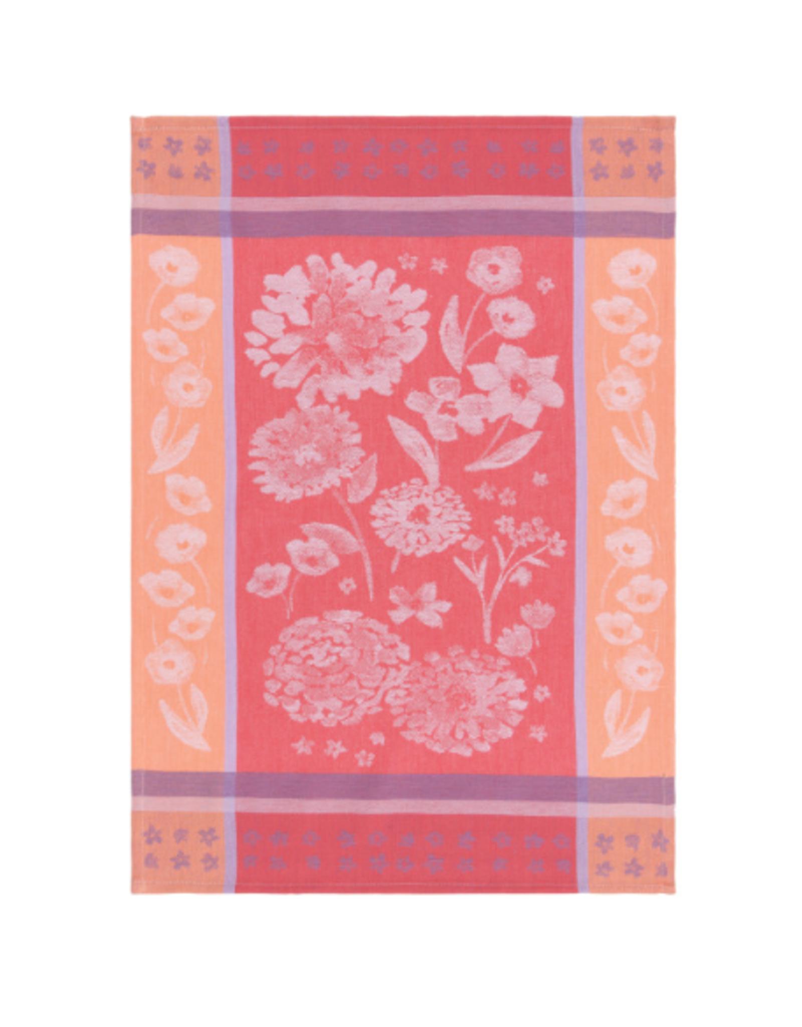 Now Designs Dishtowel, Cottage Floral Jacq