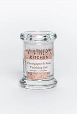 Vintner's Kitchen Champagne & Rose Finishing Salt