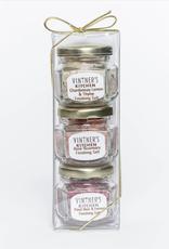 Vintner's Kitchen Finishing Salt Trio Jars