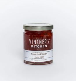 Vintner's Kitchen Grapefruit Ginger Rose Jam
